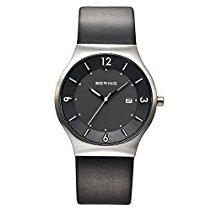 Bering Time Herren-Armbanduhr XL Analog Quarz Edelstahl 14440-402