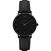 Cluse Minuit Full Black Damen Armbanduhr CL30008