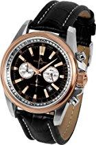 Jacques Lemans Sports Herren-Armbanduhr Liverpool Chronograph Quarz Edelstahl 1-1117MN