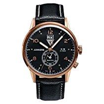 Junkers 6942-5 Herren-Uhr G38 Dual Time