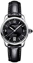 Certina Damen-Armbanduhr XS Analog Quarz Leder C025.210.16.057.00