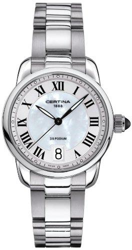 Certina Damen-Armbanduhr XS Analog Quarz Edelstahl C025.210.11.118.00