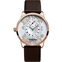 Zeppelin Damen-Armbanduhr Viktoria Luise Analog Quarz Leder 73315