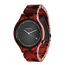 Kerbholz Herren-Armbanduhr Analog Quarz Kunstleder 104001V000002