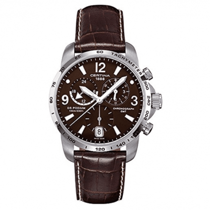 Certina DS Podium GMT Herren-Quarzuhren