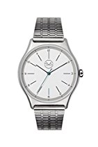 slim made one 01 - Extra schlanke unisex Armbanduhr in silber