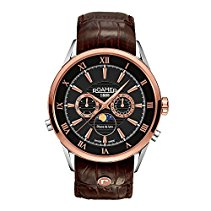 Roamer of Switzerland Herren-Armbanduhr Superior Moonphase Chronograph Quarz 508821 49 53 05