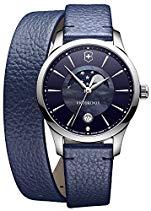 Victorinox Alliance Small Damenuhr mit Mondphase Blau 241755