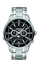 Roamer Herren-Armbanduhr Superior Moonphase Chronograph Quarz 508821 SM2