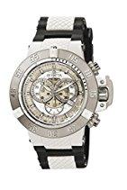 Invicta Herren-Armbanduhr XL Chronograph Quarz Kautschuk 0924