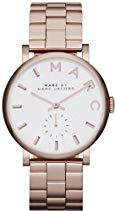 Marc Jacobs Damen-Armbanduhr Analog Quarz Edelstahl MBM3244
