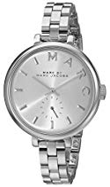 Marc Jacobs Damen-Armbanduhr Analog Quarz Edelstahl MBM3362