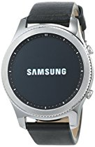 Samsung Gear S3 classic (3,3 cm (1,3 Zoll) Display, NFC, Bluetooth, WLAN, Tizen OS), mit Echtleder-Armband