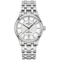 Certina DS-8 Herren-Armbanduhr Armband Edelstahl + Gehäuse Automatik Zifferblatt Silber C033.407.11.031.00