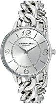 Stuhrling Original Damen-Armbanduhr Vogue Analog Quarz 588.01