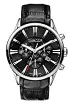 Roamer Herren-Armbanduhr Superior Chronograph Quarz Leder 508837 SL2