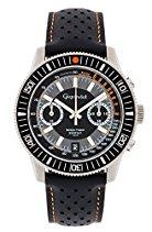 Gigandet Speed Timer Herren Armbanduhr Chronograph Analog Quarz Grau Schwarz G7-004