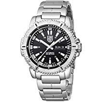 Luminox Herren-Armbanduhr MARINER 6500er Serie Analog Automatik Edelstahl 6502