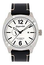 Gigandet Automatik Herren-Armbanduhr Red Baron III Fliegeruhr Uhr Datum Analog Schwarz Weiß G16-008
