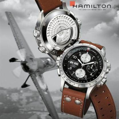 Baselworld 2017 Preview: Hamilton Khaki X-Wind Auto Chrono