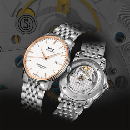 Baselworld 2017 Preview: Mido Baroncelli Caliber 80 Chronometer Si