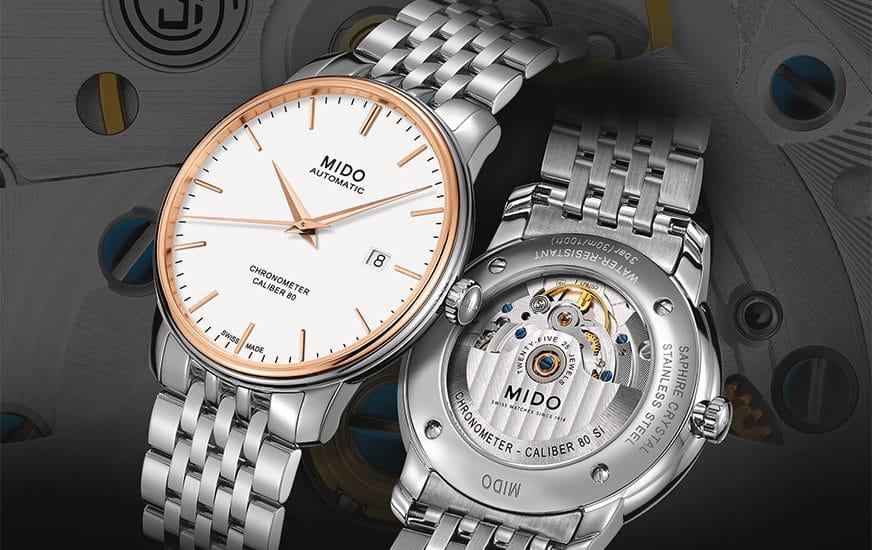 Baselworld 2017 Preview: Mido Baroncelli Caliber 80 Chronometer Si