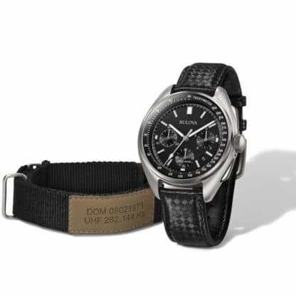 Bulova Moonwatch Chronograph Re-Edition – Fly me to the moon