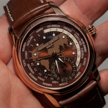 Frederique Constant Classic Worldtimer Manufacture FC-718 Hands-On