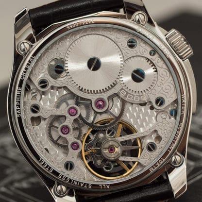 Bestandteile eines mechanischen Uhrwerks