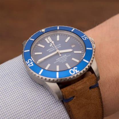 Meccaniche Veneziane Nereide Cobalto Testbericht: Wiedergeburt italienischer Uhrmacherkunst