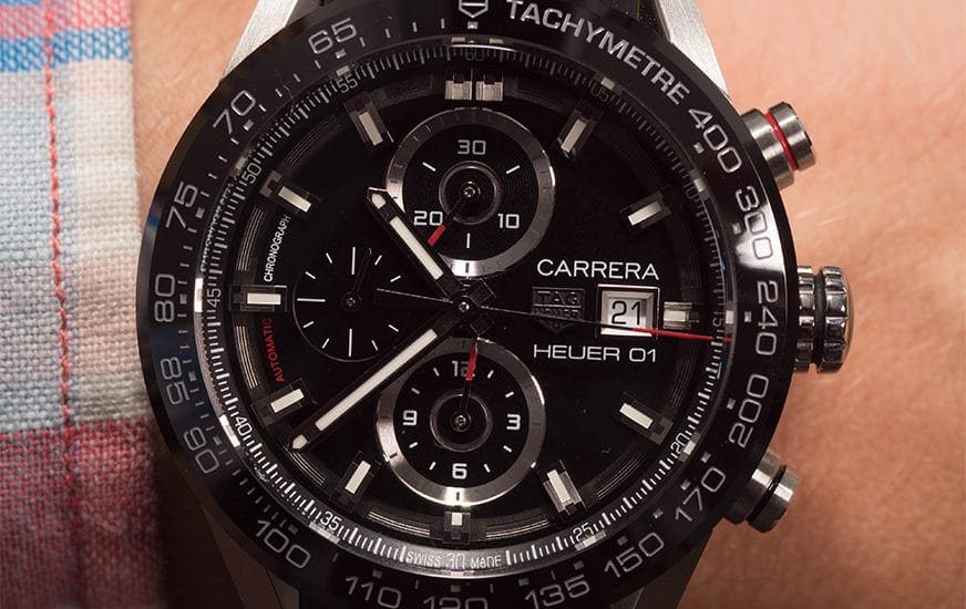 TAG Heuer Carrera Calibre Heuer 01 im Test