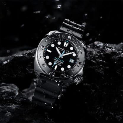 Vorstellung der Undive Watches Dark Sea 500M Taucheruhr