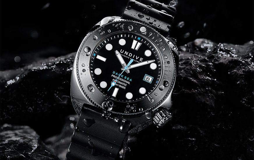 Vorstellung der Undive Watches Dark Sea 500M Taucheruhr