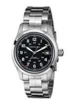 Hamilton Khaki Field Herren Armbanduhr XL Analog Automatik Edelstahl H70455133