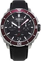 ALPINA SEASTRONG DIVER 300 HERREN-ARMBANDUHR 44MM BATTERIE AL-372LBBRG4V6