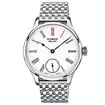Dugena Herren-Armbanduhr EPSILON 4 Analog Handaufzug Edelstahl 7090058