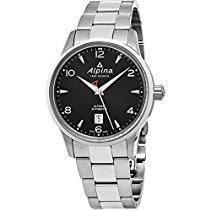 Alpina al525b4e6b al-525b4e6b–Uhr, Edelstahl-Armband Silber