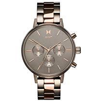 MVMT NOVA Orion Titan und Roségold Edelstahl Damen Armbanduhr