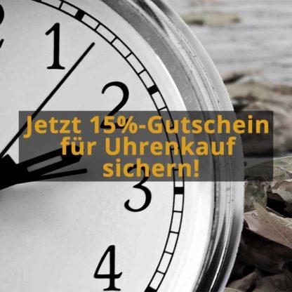 *Aktion beendet* Nur noch heute: 15%-Gutschein für Uhrenkauf auf eBay!