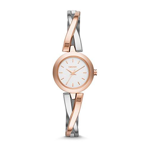 DKNY Damen-Armbanduhr XS Analog Quarz Edelstahl NY2172