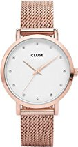 Cluse Damen-Armbanduhr Analog Quarz Edelstahl CL18303