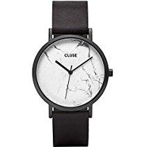 Cluse Damen Armbanduhr Analog Quarz Leder CL40002