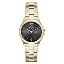 DKNY Damen-Armbanduhr Digital Quarz Edelstahl NY2366