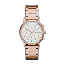 DKNY NY2275 SOHO Chronograph Uhr Damenuhr Edelstahl 50m Analog Chrono rose